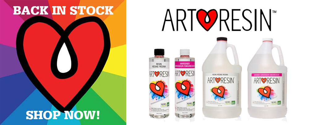 ARt Resin online from Different Strokes Art Supplies